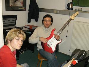 Musik Bader Musiklehrer Karl Lenz