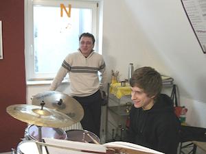 Musik Bader Musiklehrer Klaus Vogt