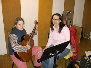 Musiklehrerin Petra Bihr